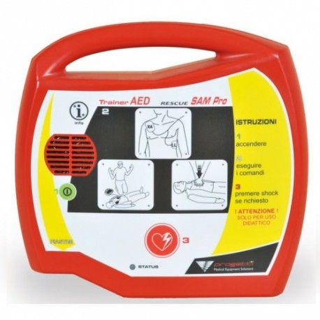 Trainer AED Rescue Sam Pro