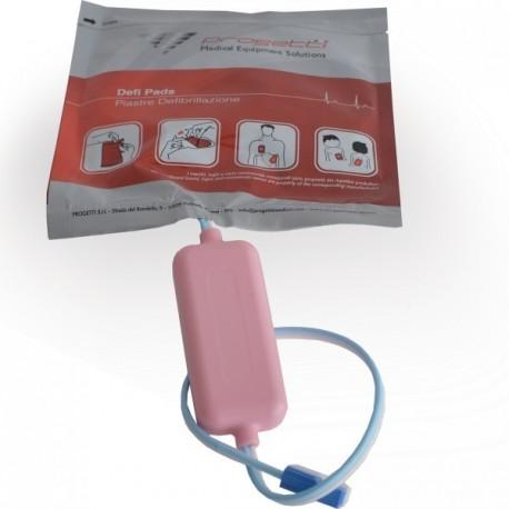 Piastre Pediatriche monouso Defibrillatore RESCUE SAM
